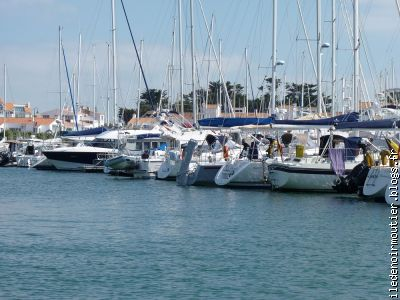 Le port de plaisance de l'Herbaudi�re